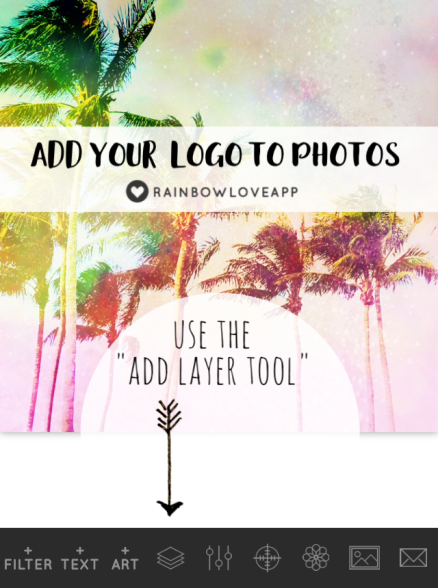 add-your-logo-to-photos-with-rainbow-love-app