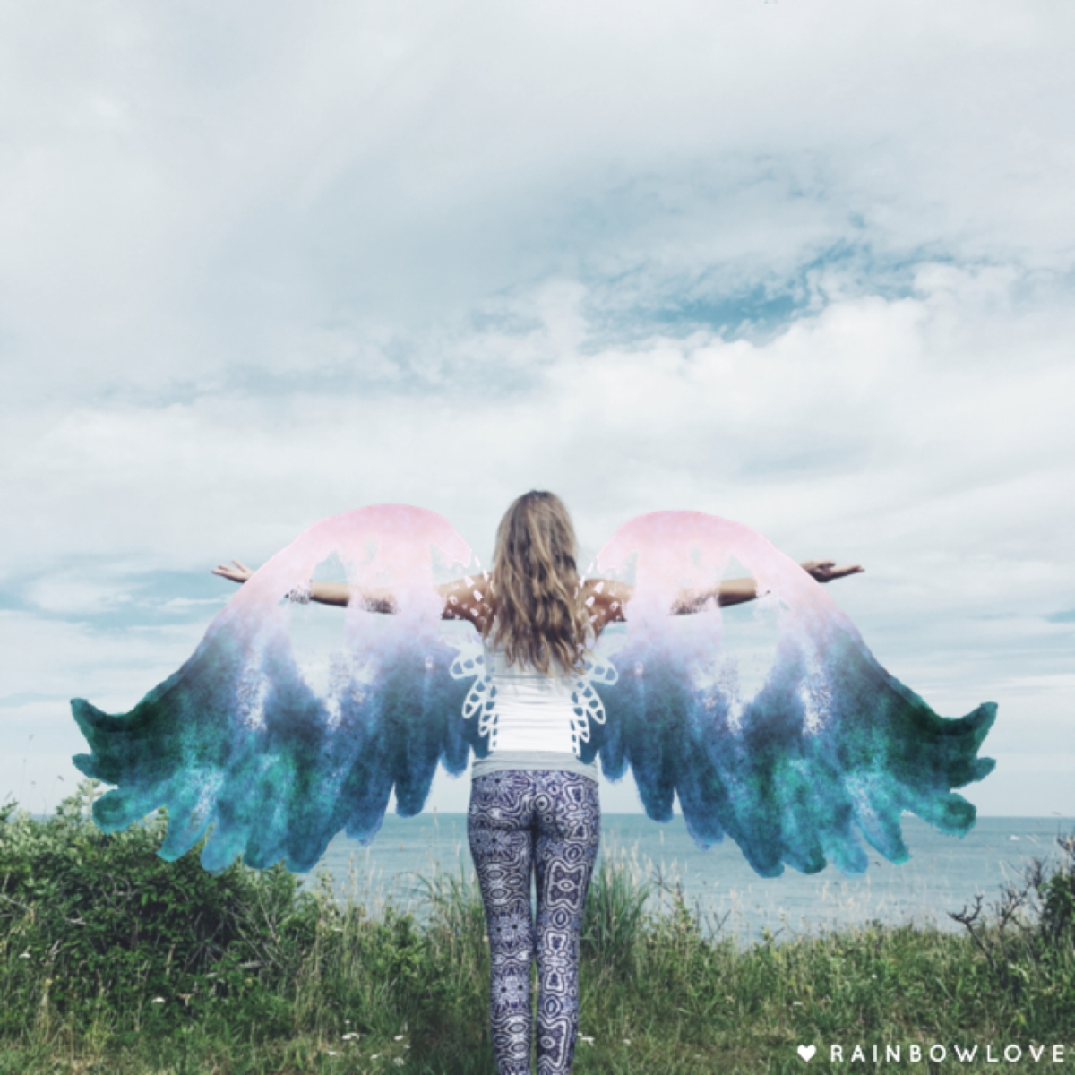Rainbow-Love-App-Angel-Wings-Photo-Art